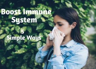 Boost Immune System 5 Simple Ways