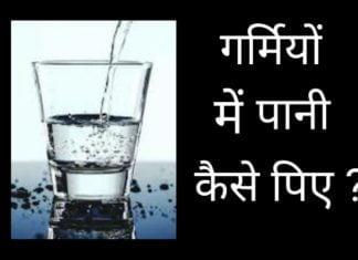 पानी आपको प्रतिदिन कितना पीना चाहिए गर्मियों में ?